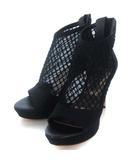 レディ Rady 2021S/S 21SS 新作 今季 ID0023 チュール ブーティ サンダル バックジップ ブラック 黒 L 24.5 25.0 シューズ 靴