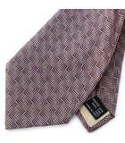ネクタイ レギュラータイ シルク 絹100% 総柄 グレー系