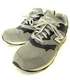 ニューバランス NEW BALANCE ML878CA スニーカー スエード ABZORB アブゾーブクッション グレー ネイビー 紺 27.0 D シューズ 靴