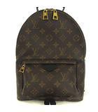 ルイヴィトン LOUIS VUITTON M41560 美品 2020年製 モノグラム パームスプリングス PM リュックサック バックパック デイパック ブラウン ブラック 茶 黒 かばん カバン 鞄