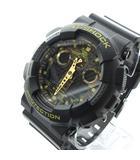 カシオジーショック CASIO G-SHOCK GA-100CF-1A9JF 腕時計 アナデジ ブレスウォッチ カモフラ 迷彩文字盤 黒 ブラック ブラウン 0520