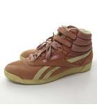 リーボック Reebok The Athletes Shoe スニーカー ヌバック ハイカット シューズ ピンク系 UK 6 1/2 25cm位 0526