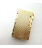 エステーデュポン S.T.DUPONT ライン1 大 ローラー ガスライター 喫煙具 ゴールドカラー 0918