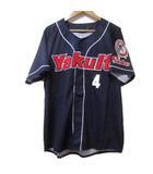 東京ヤクルト スワローズ BALENTIEN 野球 ウエア レプリカ ユニフォーム シャツ 半袖 紺 ネイビー