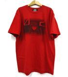 バンダイ 新世紀エヴァンゲリオン 惣流・アスカ・ラングレー Tシャツ 半袖 レッド 赤 L 181022NM-9715B