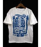 マークジェイコブス MARC JACOBS Tシャツ カットソー プリント 半袖 ホワイト 白 M トップス 190404IS17B