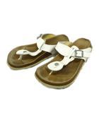 ベチュラ Betula ビルケンシュトック BIRKENSTOCK トング サンダル シューズ 靴 26.5cm 白 ホワイト メンズ▼▼2※