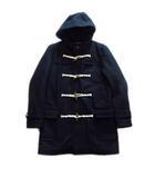 エドウィン EDWIN ダッフル ロング コート ジャケット ブルゾン 中綿 フード ウール L 黒 ブラック メンズ▼3