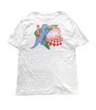 ポールスミス PAUL SMITH DINO'S DINER プリントオーガニックコットンTシャツ カットソー 恐竜 ディノダイナソー XL 白 ホワイト メンズ※