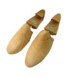リーガル REGAL シューキーパー シューズ 靴 木製 ウッド ロゴ 6E 茶 メンズ レディース