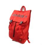 アディダス adidas リュック バックパック フラップ型 ロゴ クローバー 刺繍 赤 レッド メンズ レディース★4※