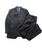 エルメネジルドゼニア Ermenegildo Zegna スーツ セットアップ テーラード ジャケット パンツ スラックス ウール ビジネス ネイビー メンズ♪4