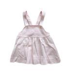 セリーヌ CELINE サロペット ワンピース つなぎ スカート ロゴ 刺繍 80 ピンク キッズ 子供 ジュニア♪4※