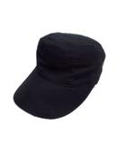 カシラ CA4LA ジェット キャップ 帽子 ベンチレーション 無地 SHS00565 黒 ブラック メンズ レディース♪4