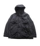 ユニクロ UNIQLO ハイブリッドダウンオーバーサイズパーカ ジャケット ブルゾン フード M 黒 ブラック メンズ