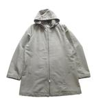 エル ELLE フーデッド コート ジャケット ブルゾン ロング ビジネス L グレー系 メンズ▼7