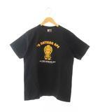 アベイシングエイプ A BATHING APE BABY MILO S/S TEE ベビーマイロ  半袖 Tシャツ M 黒ブラック ブランド古着ベクトル 中古190408 0005