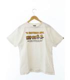 アベイシングエイプ A BATHING APE BABY MILO S/S TEE ベビーマイロ  半袖 Tシャツ M 白ホワイト ブランド古着ベクトル 中古190408 0003