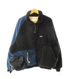 ジレ gilet 18AW REMAKE PATAGONIA FLEECE JACKET リメイク パタゴニア フリース ジャケット マルチカラー ブランド古着ベクトル 中古190416 0220