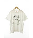 シュプリーム SUPREME × アンダーカバー UNDERCOVER 15SS BEAR TEE ベアー半袖Tシャツ L白ホワイト ブランド古着ベクトル 中古☆AA★190510 0120