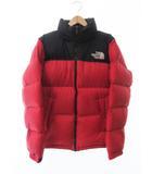 ザノースフェイス THE NORTH FACE Nuptse Jacket ND91631 ヌプシ ダウン ジャケット L 赤レッド ブランド古着ベクトル 中古190514 0065