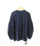 ブルーナボイン BRU NA BOINNE 19SS アデプトロンT長袖Tシャツ 8257 L紺ネイビー ブランド古着ベクトル 中古190521 0050