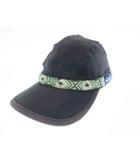 カブー KAVU ex strap cap ストラップ キャップ 帽子 11863001 M 黒ブラック ブランド古着ベクトル 中古●▲ 190524 0006