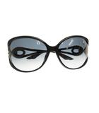 クリスチャンディオール Christian Dior DIORVOLUTE2F ディオールボルテ サングラス D28JJ 62mm黒ブラック ブランド古着ベクトル 中古190714 0025