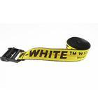 オフホワイト OFF WHITE Industrial Belt in Yellow インダストリアル ベルト ガチャ ベルト O/S イエロー ブラック ブランド古着ベクトル 中古☆AA★▲■200331 0060