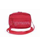 シュプリーム SUPREME 18AW Shoulder Bag ロゴ ショルダー バッグ 赤 レッド ブランド古着ベクトル 中古 ☆AA★▲ 200522 0050