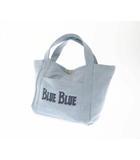 ブルーブルー BLUE BLUE BBアンカー デニム ハンド バッグ 700056-892 インディゴ ブランド古着ベクトル 中古●▲ 200726 0015