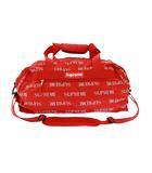 シュプリーム SUPREME 16AW 3M Reflective Repeat Duffle Bag リフレクティブ リピート 2WAY ダッフル ボストン バッグ 赤 レッド ブランド古着ベクトル 中古 ☆AA★▲ 201114 0130