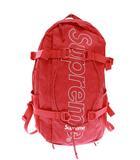 シュプリーム SUPREME 18AW Backpack ボックス ロゴ リュック バックパック 赤 レッド ブランド古着ベクトル 中古 ☆AA★▲ 201224 0080