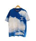 ルイヴィトン LOUIS VUITTON 20AW Cloud Print Tee クラウド プリント 半袖 Tシャツ 1A89U6 XL 青 ブルー ブランド古着ベクトル 中古 ■ 201202 0350