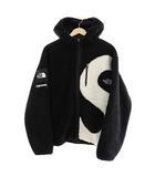 シュプリーム SUPREME ×The North Face ノースフェイス 20AW S Logo Fleece Jacket Sロゴ フリース ジャケット ブルゾン NF0A5EHN M 黒 ブラック ブランド古着ベクトル 中古 ☆AA★ 210131 0380