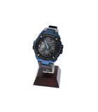G-STEEL Gスチール 電波ソーラー タフソーラー アナデジ 腕時計 GST-W300G 黒 青 ブラック ブルー ブランド古着ベクトル 中古 ▲ 210227 0040