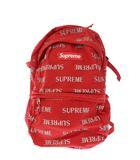 シュプリーム SUPREME 16AW 3M Reflective Repeat Backpack リフレクティブ リピート バックパック リュック 赤 レッド ブランド古着ベクトル 中古 ☆AA★▲ 210424 0030