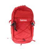 シュプリーム SUPREME 16SS Tonal Backpack トーナル ボックス ロゴ バックパック リュック 赤 レッド ブランド古着ベクトル 中古 ☆AA★▲ 210425 0070
