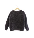 11AW ミックス 編み ニット セーター US0514 3 紺 ネイビー ブランド古着ベクトル 中古 210608 0020