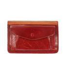 Leather Card Case レザー コインケース カードケース 赤 レッド ブランド古着ベクトル 中古 ▲ 210818/103