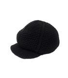 ディーゼル DIESEL DIESEL ディーゼル ニット キャップ キャスケット 帽子 ブラック