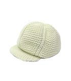 ディーゼル DIESEL DIESEL ディーゼル ニット キャップ キャスケット 帽子 ホワイト