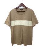 ポールスミスコレクション PAUL SMITH COLLECTION PAUL SMITH COLLECTION ポールスミスコレクション ライン デザイン 半袖 Tシャツ XL ライトブラウン系