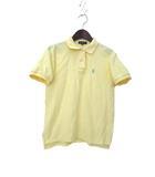 ラルフローレン RALPH LAUREN 子供服 RALPH LAUREN ラルフローレン シンプル 半袖 ホース刺繍 鹿の子 ポロシャツ 150 イエロー