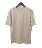 エルメス HERMES HERMES エルメス 刺繍 ロゴ デザイン 半袖 Tシャツ カットソー M ベージュ