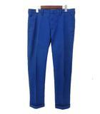 ブルーワーク BLUE WORK BLUE WORK TOMORROWLAND ブルーワーク トゥモローランド 51-04-31-04007 ストレッチ チノ パンツ チノパン 3 ブルー