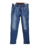 ギャップ GAP GAP DENIM ギャップ デニム ダメージ加工 デニム テーパード パンツ 26 ブルー系