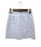 セシルマクビー CECIL McBEE CECIL McBEE セシルマクビー シンプル ミニ 台形 スカート S ブルー