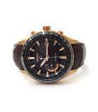 セイコー SEIKO 未使用 SEIKO セイコー SBXB096 8X22-0AG0 ASTRON アストロン GPSソーラー ウォッチ 腕時計 茶 金 ブラウン ゴールド