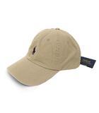 ポロ ラルフローレン POLO RALPH LAUREN 未使用 POLO RALPH LAUREN ポロ ラルフローレン ポニー 刺繍 ベースボール キャップ 帽子 59cm ベージュ